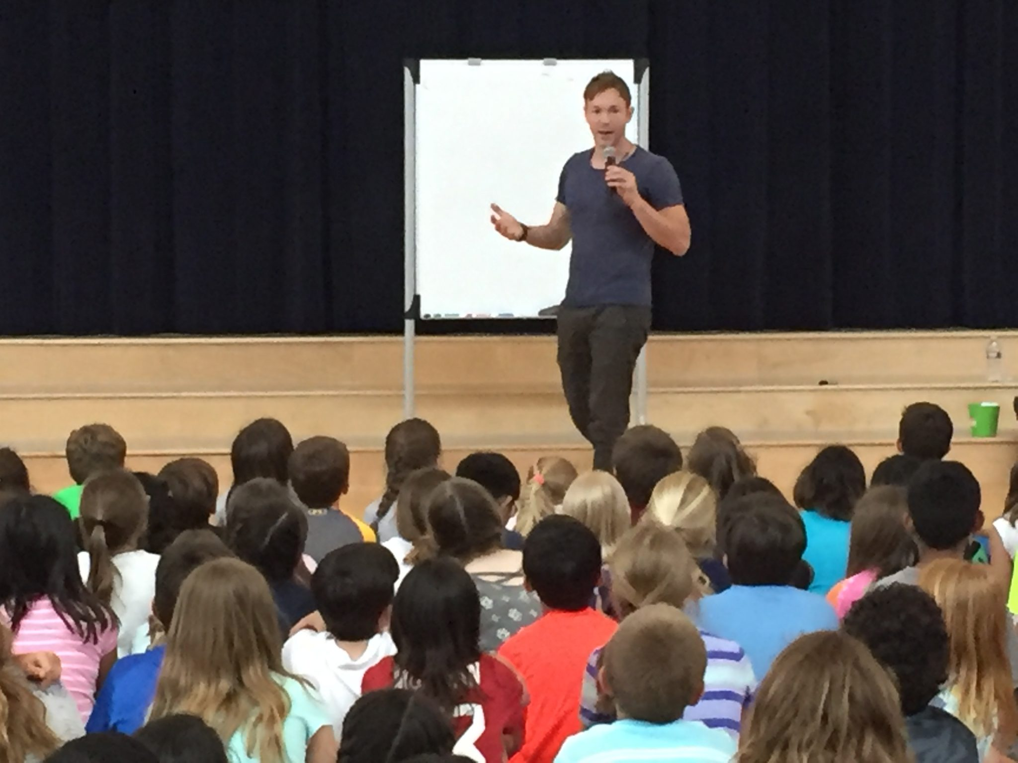 image of Ben Hatke author visit