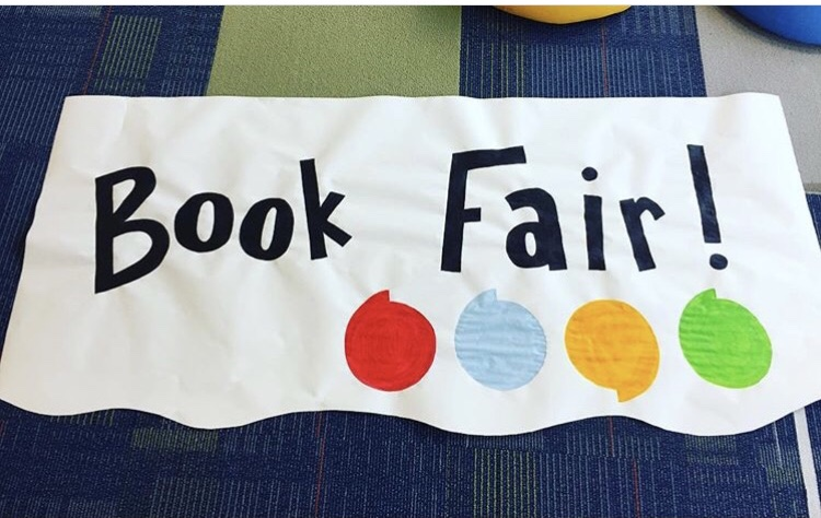 image of book fair banner