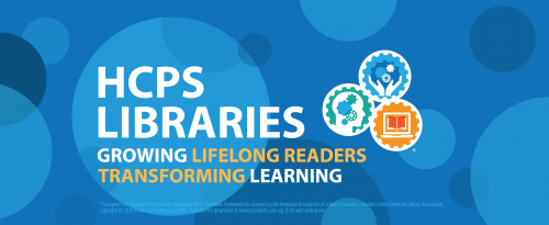 HCPS Library Services LOGO