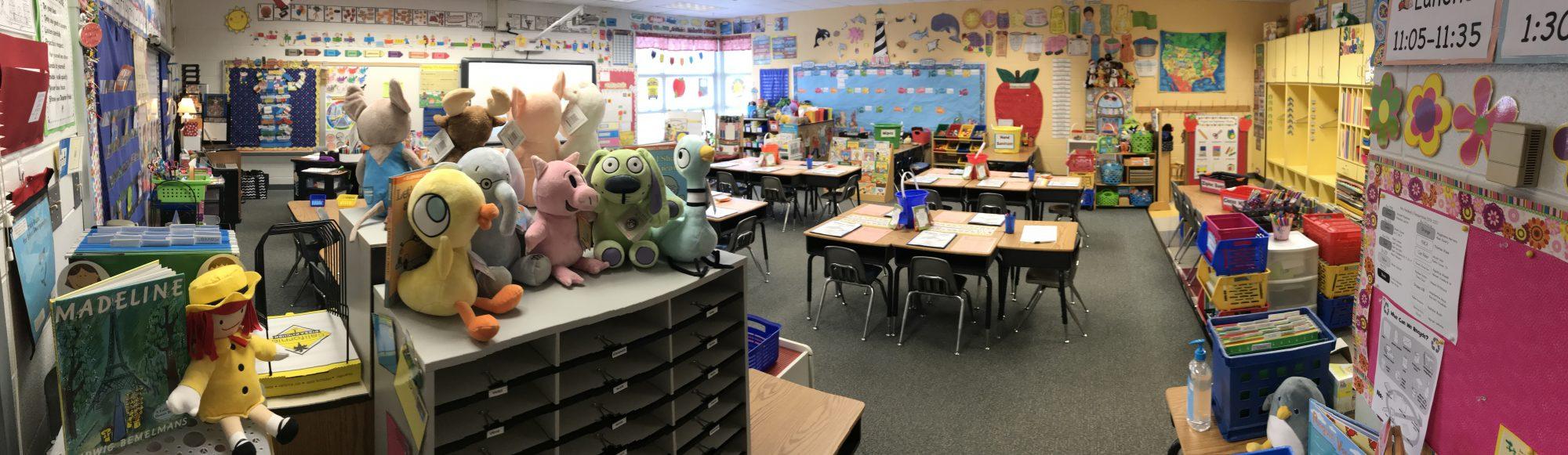 Mrs. Hardiman's                                                                                                           Kindergarten Class