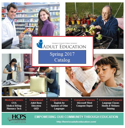Adult Education Catalog 87