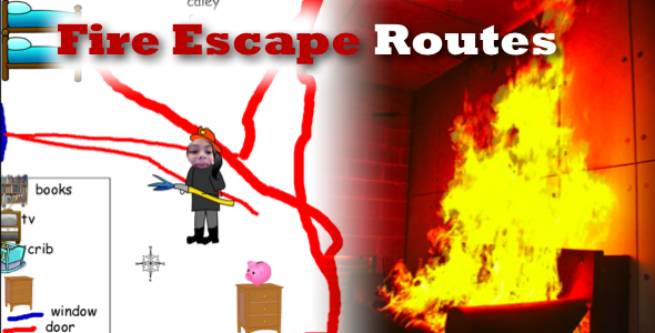 2nd Grade Fire Escape Routes Henrico 21