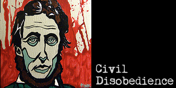 the civil disobedience in resistance to civil war by david thoreau