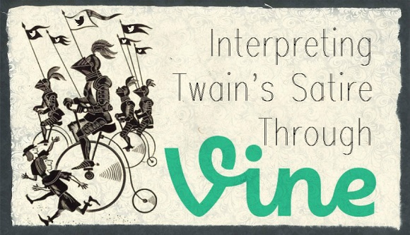 Interpreting Twain's Satire Through Vine – 8121