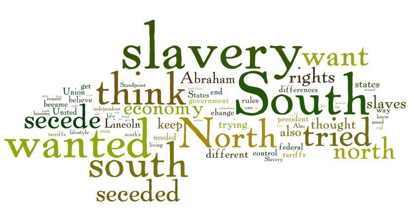 Secession Wordle Picture