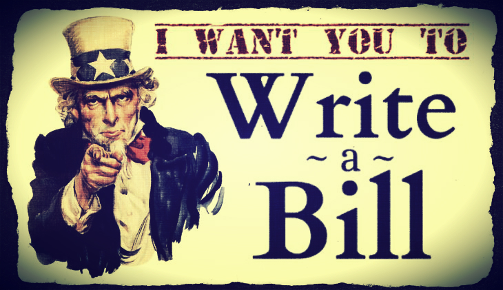 Write a Bill – 8123