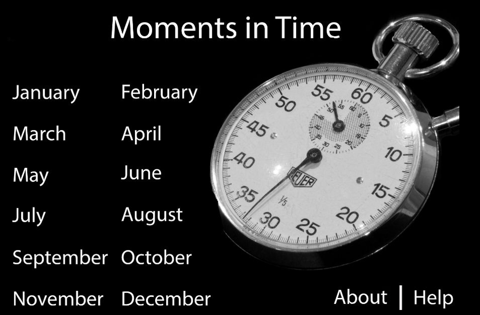 Moments in Time (15MS605)