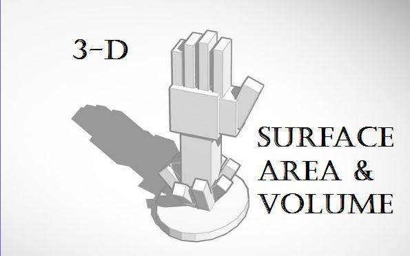 3-D Surface Area and Volume