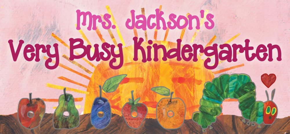Mrs. Jackson's Very Busy Kindergarten