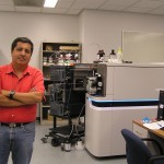 Dr. Gallegos @ Mass spectrometry facility