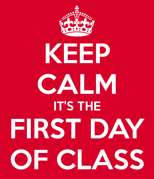 What to do on the first day of class? – Angela C. Jenks