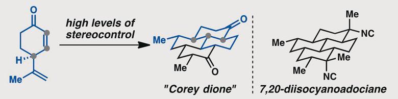 A Formal Enantiospecific Synthesis of 7,20-Diisocyanoadociane