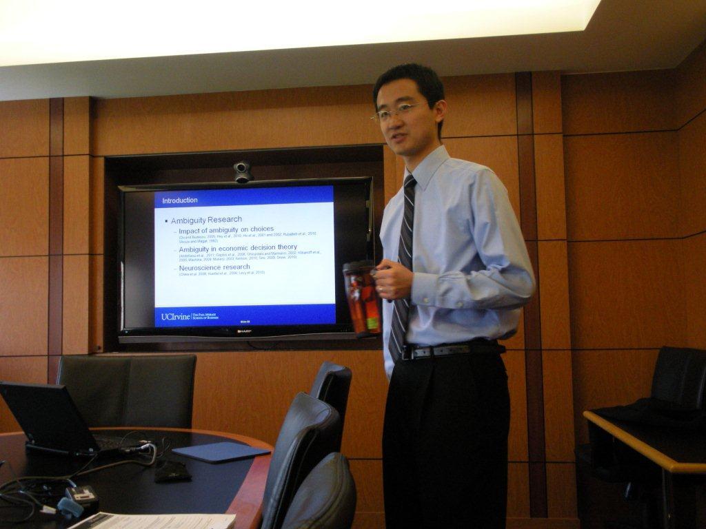 Dissertation defense meeting