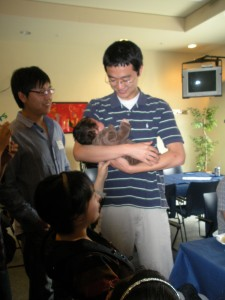 Yitong Wang and family