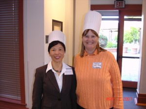 Professors Joanna Ho and Robin Keller 2007 Merage Iron Chefs