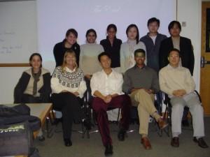 2003 Proseminar Class