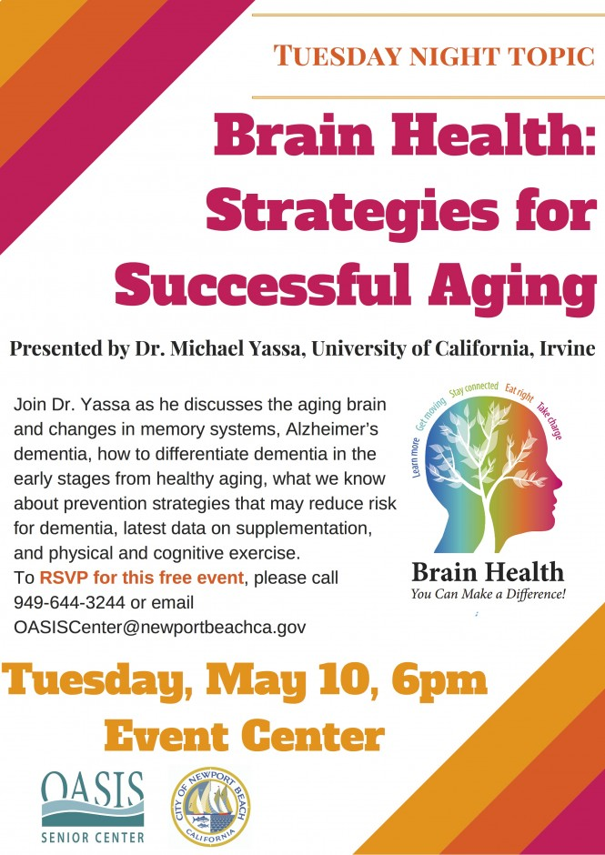Healthy Brain Aging UCI_May 2016