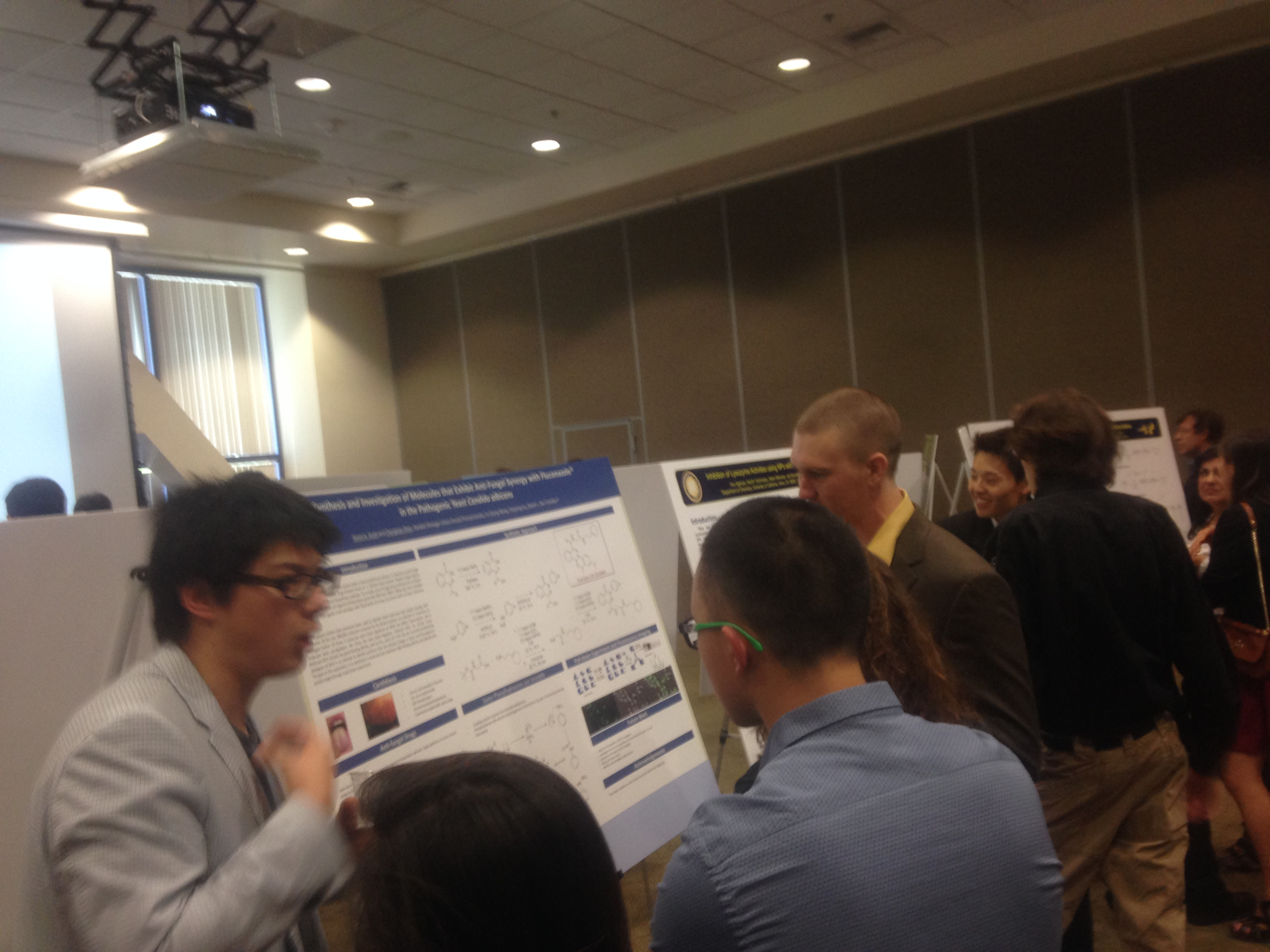 Our Awesome Undergrads Describing their Research to other Students