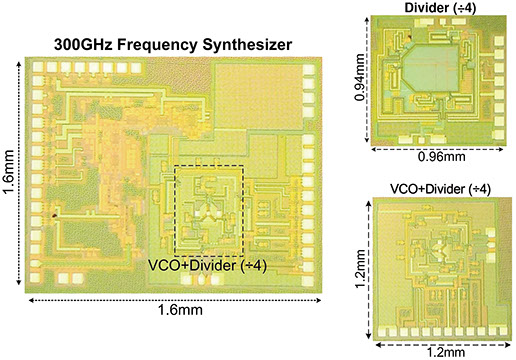 A 300GHz frequency synthesizer with 7.9% locking range in 90nm SiGe BiCMOS