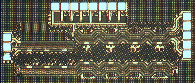 CMOS 818-GHz GBW Differential Distributed Amplifier