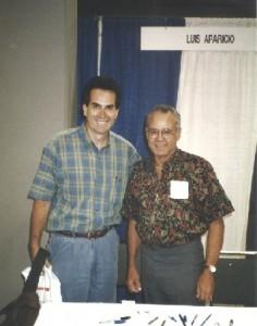 Luis Aparicio, (with RR) 1996.