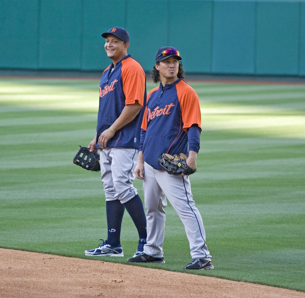 Miguel Cabrera and Magglio Ordoñez, 2009
