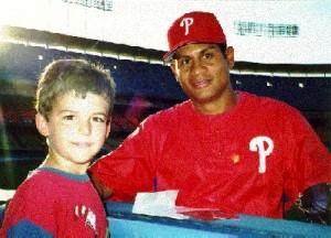 Bob Abreu (with Adrian), 1998.
