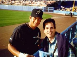 Bob Abreau (with RR), 1997.