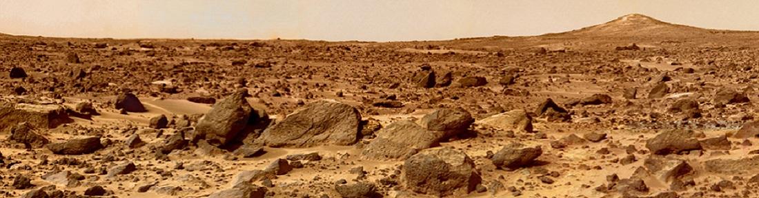 Martian landscape/NASA