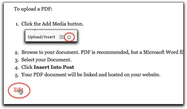 Edit The Cv Page Faculty Websites