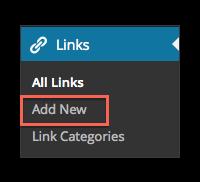 Add New Link