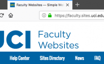 Faculty Websites now using HTTPS