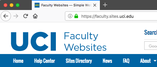 Browser screenshot showing https