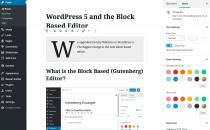 block based editor example