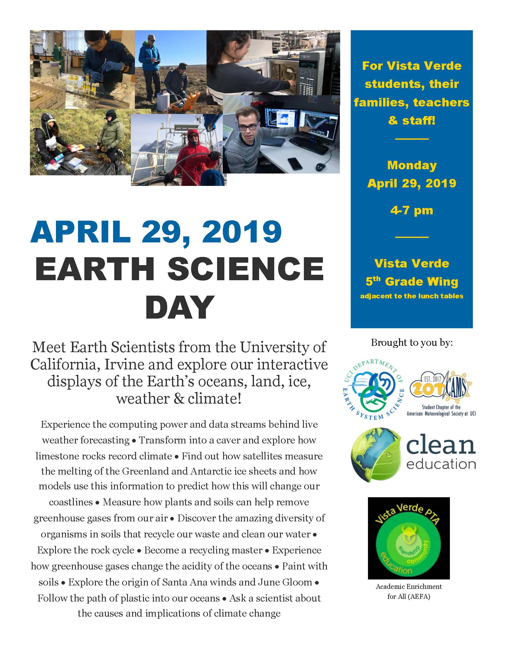 Earth Science Day 2019