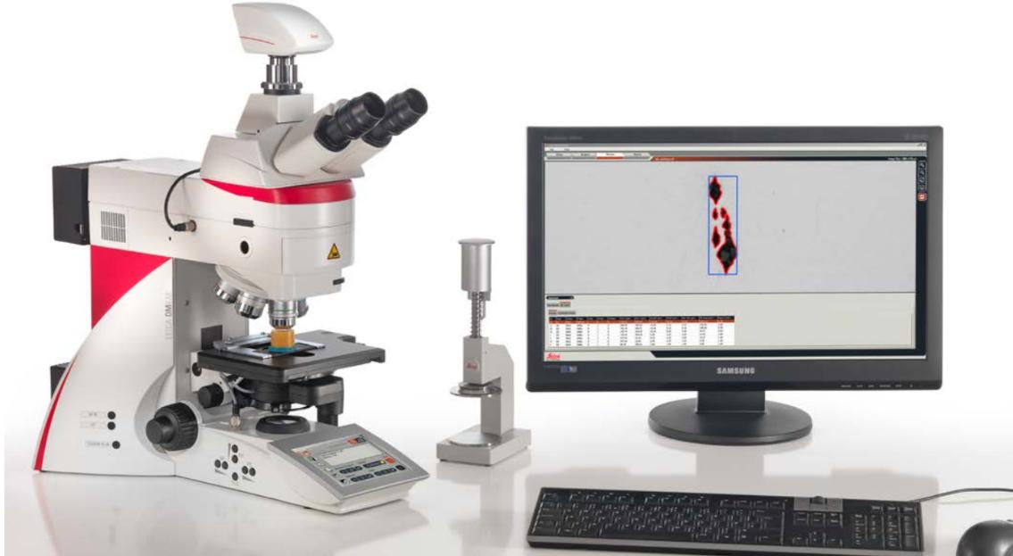 Leica DM4 B Microscope