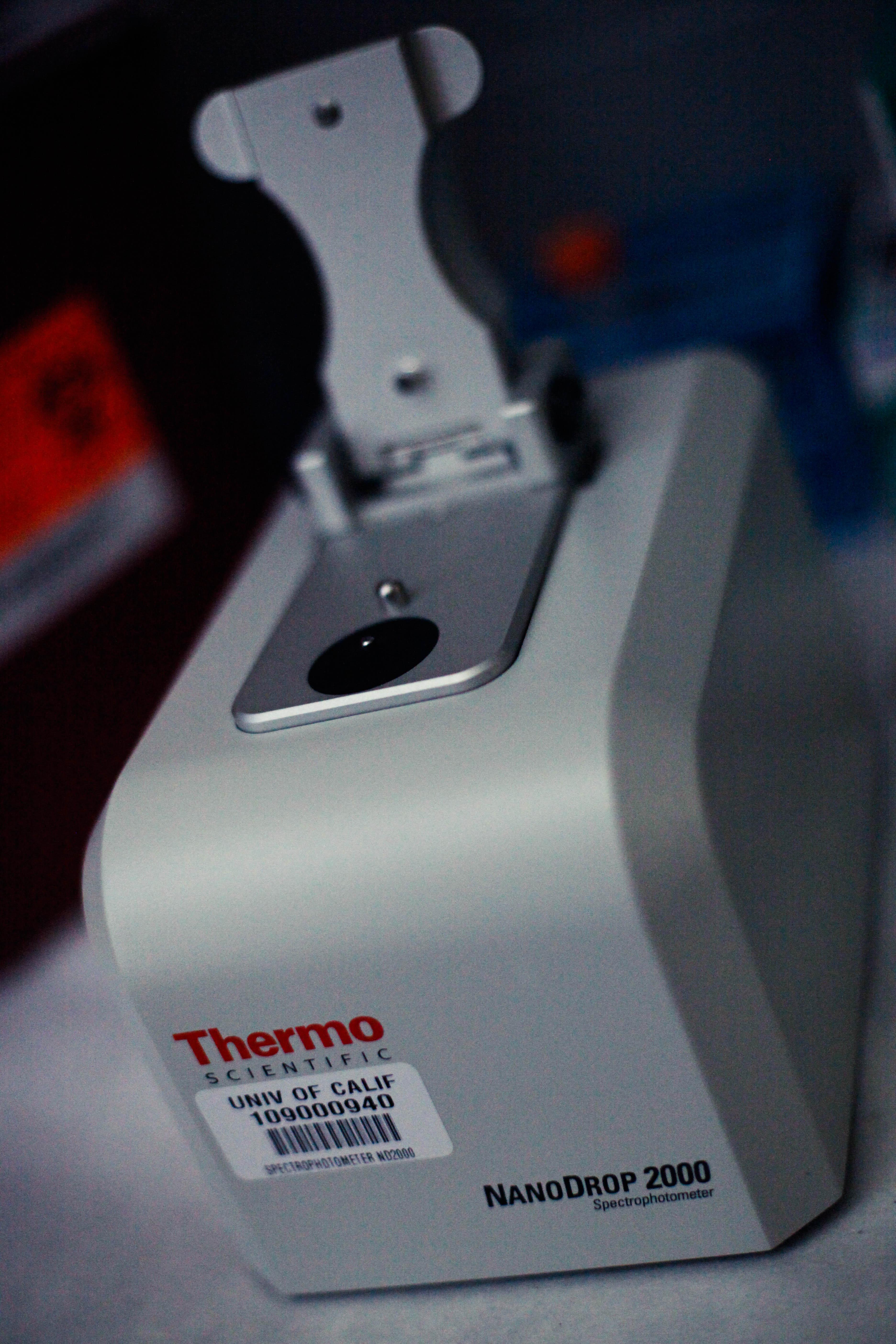 Nanodrop Spectrophotometer