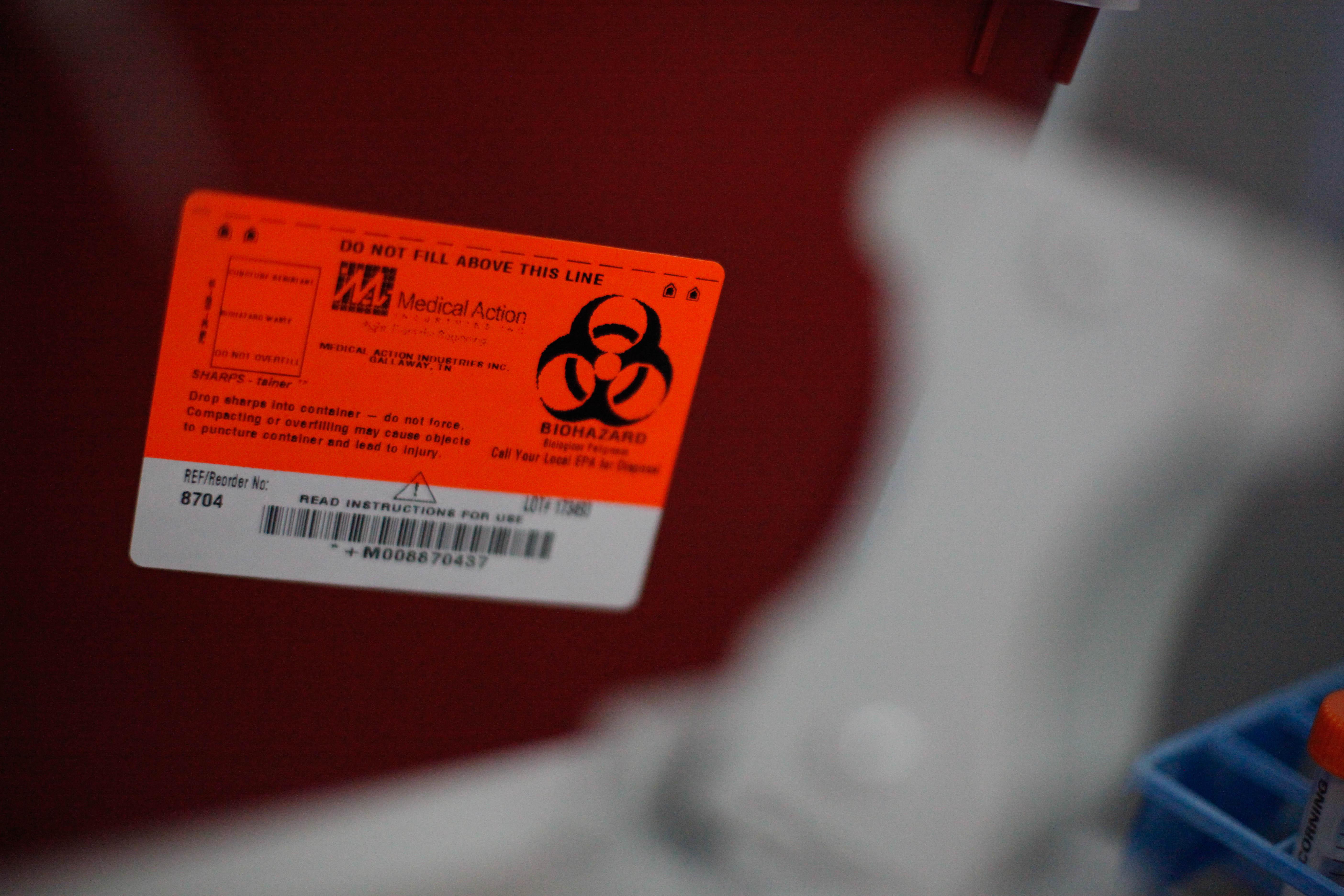 Biohazard Container