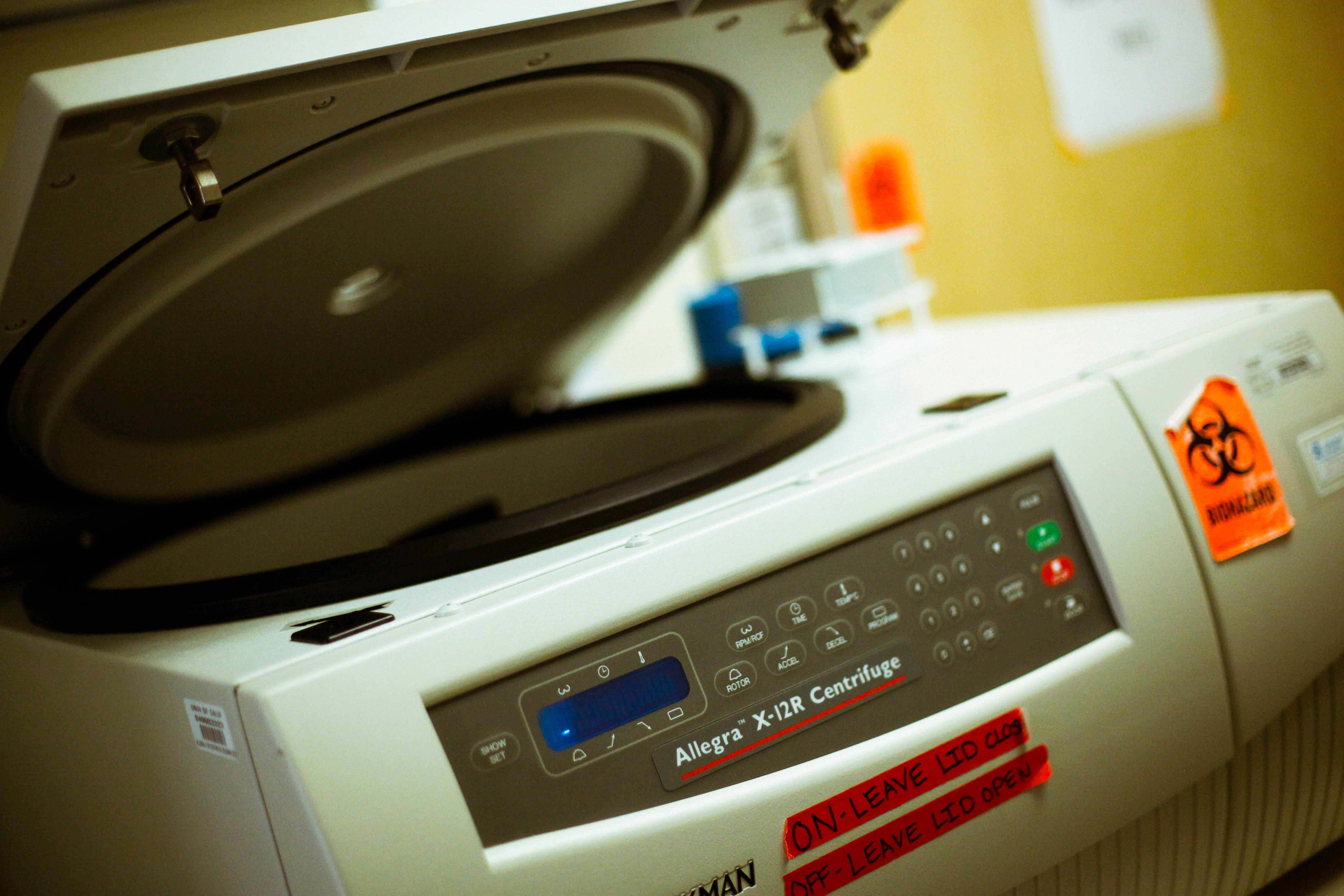 Large centrifuge
