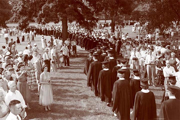 Commencement 1954