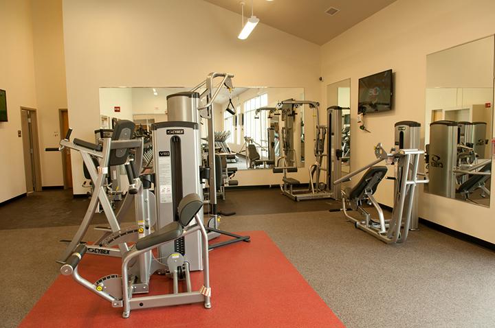 Cardinal Court fitness center