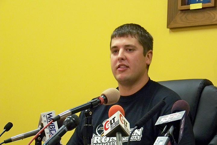 Illinois State alumnus Derrick Schonauer
