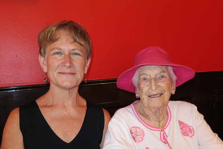 Betty Solyom and Jean Cook