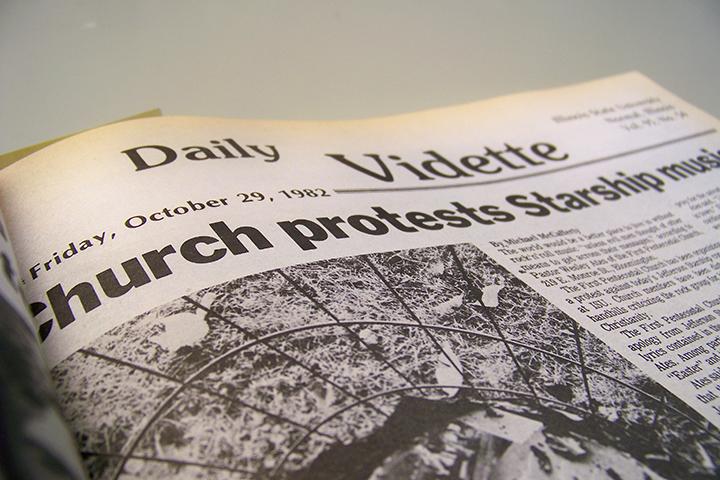 Vidette from October 1982