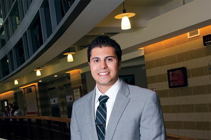 Illinois State Univeristy Scholarship recipient: Dominick Russo