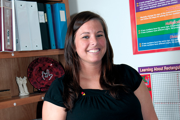 Illinois State Univeristy Scholarship recipient: Kathryn Van Valey