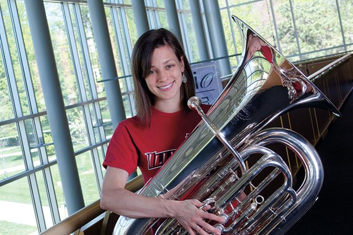 Illinois State Univeristy Scholarship recipient: Katie Zdanowski
