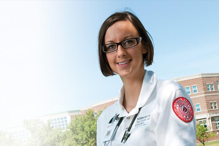 Illinois State Univeristy Scholarship recipient: Kylie Rieser
