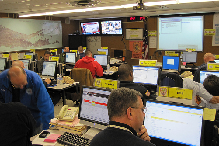 Suffolk County Emergency Operations Center