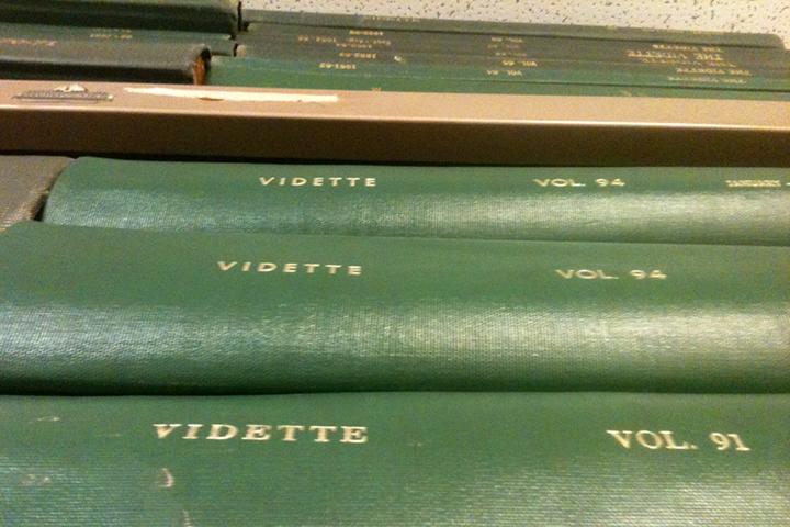 Vidette archive books